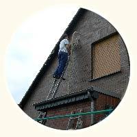 Dach und Aussenwände eines Einfamilienhauses