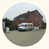 Einblasdämmung am Haus von Liske in Sarstedt
