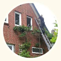 Hohlraumdämmung am Haus von Preus in Hannover