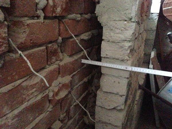 hohlraum beim zweischaligen Mauerwerk