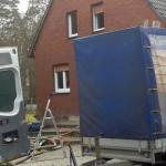 Dämmung der Dachschrägen und der Rotklinkerfassade in gegen Schimmelbefall