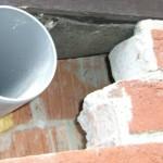 Fassade am Fachwerkhaus in Garbsen Region Hannover mit Einblasdämmung nachträglich gedämmt