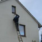 Fassadendämmung einer Doppelhaushälfte in Hannover Misburg