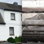Rotenburg (Wümme): Nachträgliche Zwischensparrendämmung der Dachschrägen und Drempel nach Marderschaden