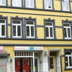 Stadtfassade mit KfW Zuschüssen gedämmt