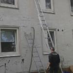 Altbausanierung in Hannover – Bothfeld Kerndämmung  der Fassade und Geschossdeckendämmung