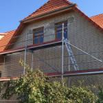 Einblasdämmung in der Fassade und in den Dachsparren in 39104 Magdeburg