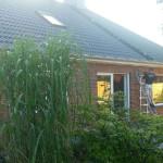 Hohlraumdämmung an einem Einfamilienhaus in 28857 Syke.