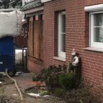 Fassadendämmung durch Einblasdämmung in Hamburg Blankenese