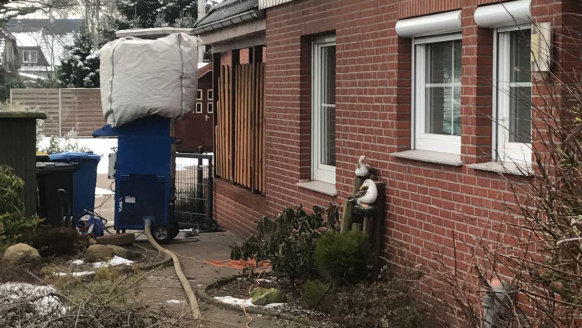 Einblasdämmung Fassadendämmung Hamburg Blankenese