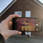 Einblasdämmung: Thermografie in Norderstedt