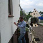 Einblasdämmung mit Rigibead an einem Einfamilienhaus in Hamburg