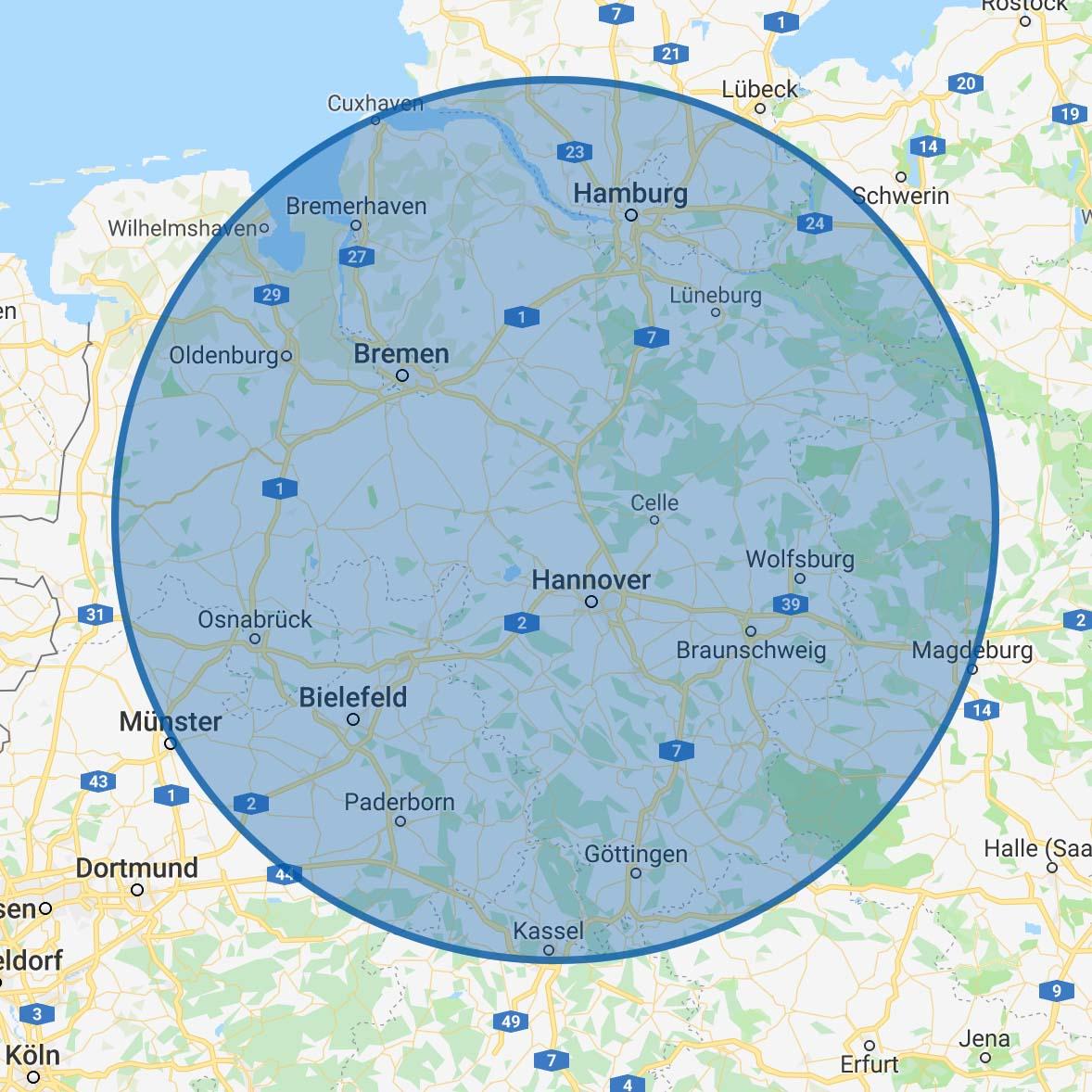 Maps Einblasdämmung Wirkungskreis